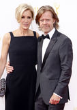 William H. Macy and Felicity Huffman Royalty Free Stock Photos