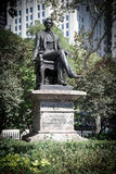 William H. Seward monument. In Madison Square Park New York Stock Images