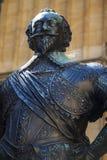 William Herbert Statue på det Bodleian arkivet i Oxford Royaltyfri Fotografi