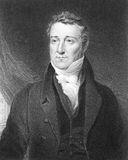 William Huskisson. (1770-1830) on engraving from the 1800s. British statesman, financier and Member of Parliament. Engraved by J.Cochran after a painting by J vector illustration