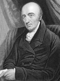 William Hyde Wollaston. (1766-1828) on engraving from 1800s. English chemist and physicist who is famous for discovering two chemical elements and for Stock Photo