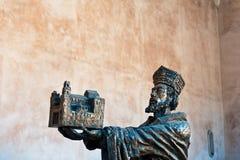 William II - Gründer von Monreale-Kathedrale Stockfoto