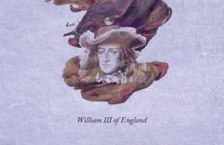 King William III of England vector illustration