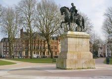 William III statue stock photos