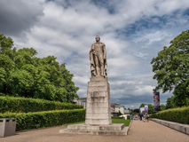 William IV statue at the Royal Maritime Museum in Greenwich Villa Stock Images