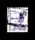 William J Bryan, serie, cerca de 1986 Imagens de Stock