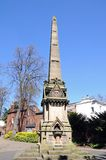 William James Clement Memorial, Shrewsbury. Royalty Free Stock Photo