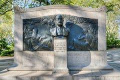 William Jay Gaynor Memorial Lizenzfreie Stockbilder