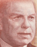 William Lyon Mackenzie King. As depicted on new Canadian fifty dollar bill Royalty Free Stock Images