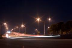 William M. Powell Bridge at Night Royalty Free Stock Images