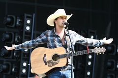 William Michael Morgan. Performs at the 2017 Country Thunder Music Festival on July 22, 2017 in Twin Lakes, Wisconsin stock photography