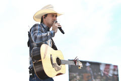 William Michael Morgan. Performs at Country Thunder Music Festival on July 22, 2017 in Twin Lakes, Wisconsin stock photo
