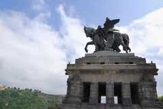 William Monument in Koblenz Royalty Free Stock Photo