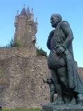William of Orange in Dillenburg. Statue of William of Orange near the Wilhelmsturm in Dillenburg Royalty Free Stock Photography