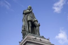 William of Orange Statue. The statue of William of Orange, or the Silent, of the Netherlands. The statue was made by Louis Royer in 1848 royalty free stock photos
