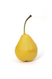 William pear. Closeup of william pear on white background Stock Images