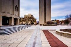 William Penn Memorial Museum y los archivos que construyen en Harris Imágenes de archivo libres de regalías
