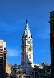 William Penn on Philadelphia City Hall Clock Tower Royalty Free Stock Images