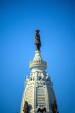 William Penn statue on a top of City Hall Philadelphia Stock Photos