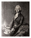 William Pitt the Younger, British politician late 18th century-e Royalty Free Stock Photos