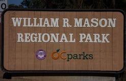 William R Mason Regional Park foto de stock royalty free