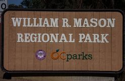 William R. Mason Regional Park royalty free stock photo