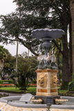 William Robert Blythe Memorial Fountain en Napier, Nueva Zelanda Fotos de archivo
