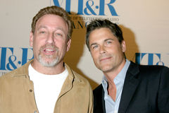 William S Paley,William S. Paley,Rob Lowe Stock Photography
