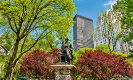 William Seward Statue at Madison Square Park in Manhattan, New York City Royalty Free Stock Photos