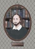 William Shakespeare ilustración del vector