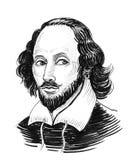 William Shakespeare illustration libre de droits