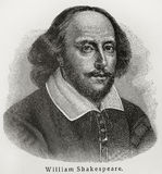 William Shakespeare Royalty Free Stock Photos