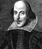 William Shakespeare image stock