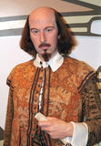 William Shakespeare an der Madame Tussauds Lizenzfreies Stockfoto