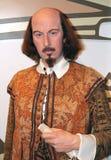 William Shakespeare en señora Tussaud Foto de archivo libre de regalías