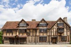 William Shakespeare Geburtsort lizenzfreie stockfotos