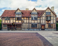 William Shakespeare's Birthplace. Stock Photo