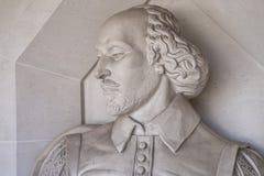 William Shakespeare Sculpture em Londres fotografia de stock
