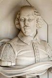 William Shakespeare Sculpture en Londres fotografía de archivo libre de regalías