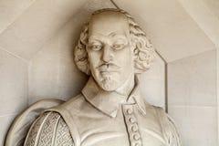 William Shakespeare Sculpture en Londres foto de archivo libre de regalías