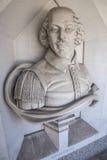 William Shakespeare Sculpture en Londres fotos de archivo libres de regalías