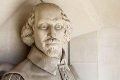William Shakespeare Sculpture in Londen Stock Afbeeldingen