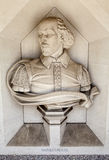William Shakespeare Sculpture in London Stock Photos