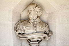 William Shakespeare Sculpture in London Stock Image