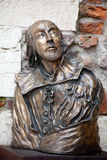 William Shakespeare statue Royalty Free Stock Image