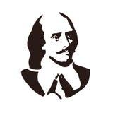 William Shakespeare Un poeta, un commediografo e un attore inglesi Fotografia Stock Libera da Diritti