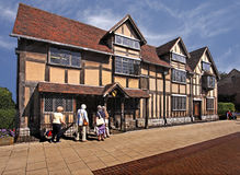 Shakespeare's Birthplace Stock Photo