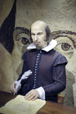William shakespeare wax figure Stock Photography