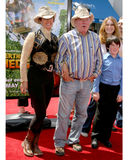William Shatner. & wife Over The Hedge LA Premiere Mann's Village Theater Los Angeles, CA April 30, 2006 Royalty Free Stock Photos
