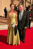 William Shatner. And wife Elizabeth at the 2004 Emmy Creative Arts Awards, Shrine Auditorium, Los Angeles, CA 09-12-04 Royalty Free Stock Images